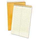 Spiral Steno Book, Gregg Rule, 6 x 9, 15 lb, Green Tint, 80 Sheets TOP25274