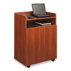 Executive Mobile Presentation Stand, 29-1/2w x 20-1/2d x 40-3/4h, Cherry SAF8919CY