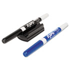 Magnetic Whiteboard Marker Holder, With 2 Markers, Set SAN1802768