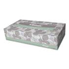 KLEENEX SOFTBLEND Facial Tissue, 2-Ply, White, 125/Box, 48 Boxes/Carton KIM21601