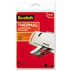 Photo Size Thermal Laminating Pouches, 5 mil, 6 x 4, 20/Pack MMMTP590020