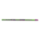 Decorated Wood Pencil, Do Best On Test, HB #2, Green, Dozen MPD7442B