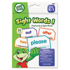 LeapFrog Flash Cards, Sight Words 1, 4 3/4 x 6, 55 Cards BDU19421UA24