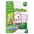 LeapFrog Flash Cards, Multiplication, 4 3/4 x 6, 55 Cards BDU19417UA24