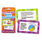 Challenge Flash Cards, Math Grades 1-3, 3 1/8 x 5 1/4, 56 per Pack TEPT24013