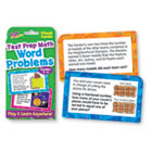 Challenge Flash Cards, Math Grades 4-6, 3 1/8 x 5 1/4, 56 per Pack TEPT24014