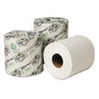 EcoSoft Universal Bath Tissue, 2-Ply, 48 Rolls/Carton WAU14800