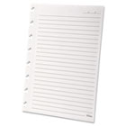 Versa Notebook Wide Ruled Refill Paper, 8-1/2 x 5-1/2, White, 40 Sheets/Pack TOP25621