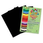 Premium Sulphite Construction Paper, 76 lbs., 9 x 12, Black, 50/Pack RLP70601