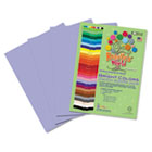 Premium Sulphite Construction Paper, 76 lbs., 9 x 12, Lilac, 50/Pack RLP75001