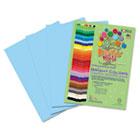 Premium Sulphite Construction Paper, 76 lbs., 9 x 12, Sky Blue, 50/Pack RLP71701