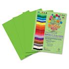 Premium Sulphite Construction Paper, 76 lbs., 9 x 12, Light Green, 50/Pack RLP74801