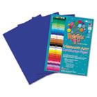 Heavyweight Construction Paper, 58 lbs., 9 x 12, Dark Blue, 50 Sheets/Pack RLP63601