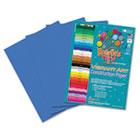Heavyweight Construction Paper, 58 lbs., 9 x 12, Blue, 50 Sheets/Pack RLP60401