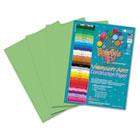 Heavyweight Construction Paper, 58 lbs., 9 x 12, Light Green, 50 Sheets/Pack RLP65601