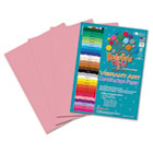 Heavyweight Construction Paper, 58 lbs., 9 x 12, Pink, 50 Sheets/Pack RLP61801