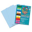 Heavyweight Construction Paper, 58 lbs., 9 x 12, Light Blue, 50 Sheets/Pack RLP60501