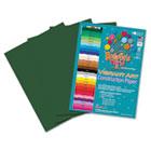 Heavyweight Construction Paper, 58 lbs., 9 x 12, Dark Green, 50 Sheets/Pack RLP61101