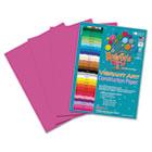 Heavyweight Construction Paper, 58 lbs., 9 x 12, Hot Pink, 50 Sheets/Pack RLP67101