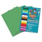 Heavyweight Construction Paper, 58 lbs., 9 x 12, Medium Green, 50 Sheets/Pack RLP63301