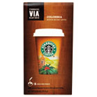 VIA Ready Brew Coffee, 3/25oz, Colombia, 8/Box SBK11019881