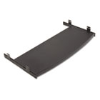Optional Keyboard Mouse Trays for 8700 Series Activity Tables, 27 x 12, Black VIRTKBMT27