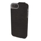 Portafolio Flip Wallet for iPhone 5, Black Marble KMW39604
