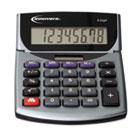 15925 Portable Minidesk Calculator, 8-Digit LCD IVR15925