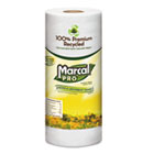 Marcal Pro Kitchen Roll Towels, 1 Ply, 9 x 11 in, White, 70 sht/rl, 15 rl/ct MRC610