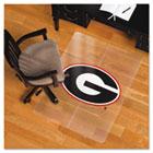 Collegiate Chair Mat for Hard Floors, 36 x 48, Georgia Bulldogs ESR500512