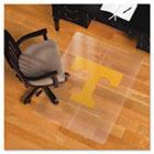 Collegiate Chair Mat for Hard Floors, 36 x 48, Tennessee Volunteers ESR501122