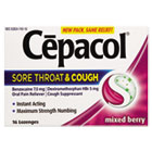 Sore Throat and Cough Lozenges, Mixed Berry, 16 Lozenges RAC74016