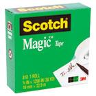 "Magic Office Tape, 3/4"" x 1296"", 1"" Core, Clear MMM810341296"