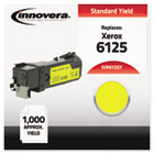 Compatible with 106R01333 (Phaser 6125) Toner, 1000 Yield, Yellow IVR6125Y