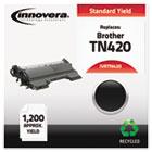 Remanufactured TN420 Laser Toner, 1200 Page-Yield, Black IVRTN420