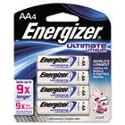 e² Lithium Batteries, AA, 4 Batteries/Pack EVEL91BP4