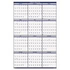 Poster Style Reversible/Erasable Yearly Wall Calendar, 24 x 37, 2014 HOD396