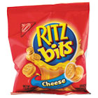 Ritz Bits, Cheese, 1.5oz Packs, 60/Carton RTZ06834