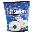 Hard Candy, Pep-O-Mint, Individually Wrapped, 6.25oz Bag LFS88503