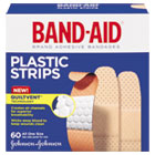 Plastic Adhesive Bandages, 3/4 x 3, 60/Box JOJ100563500