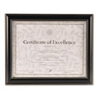 Document Frame, Black Plastic, 10 1/4 x 12 3/4 DAXN2704N1T