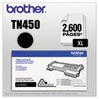 TN450 (TN-450) High-Yield Toner, 2,600 Page-Yield, Black BRTTN450
