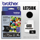LC75BK (LC-75BK) Innobella High-Yield Ink, 600 Page-Yield, Black BRTLC75BK