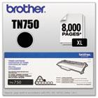 TN750 (TN-750) High-Yield Toner, 8000 Page-Yield, Black BRTTN750