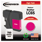 Remanufactured LC65M  Ink, 750 Page-Yield, Magenta IVRLC65M