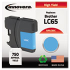 Remanufactured LC65C Ink, 750 Page-Yield, Cyan IVRLC65C