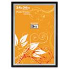 Metro Series Poster Frame, Wood, 24 x 36, Black/Silver DAX3404U1T