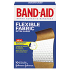 "Flexible Fabric Extra Large Adhesive Bandages, 1 1/4"" x 4"", 10/Box JOJ5685"