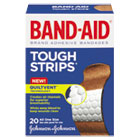 "Flexible Fabric Adhesive Tough Strip Bandages, 1"" x 3 1/4"", 20/Box JOJ4408"