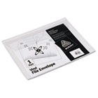 Vinyl File Envelope, Letter, Clear AVE72053